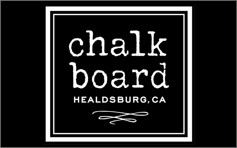 Chalk Board Restaurant in Healdsburg