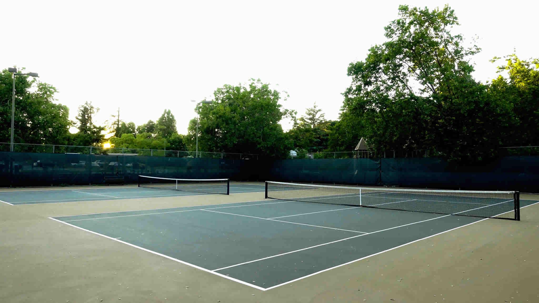 Healdsburg's Free Open Tennis Courts