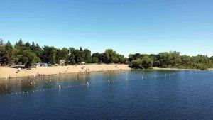 Healdsburg's Famous Memorial Beach