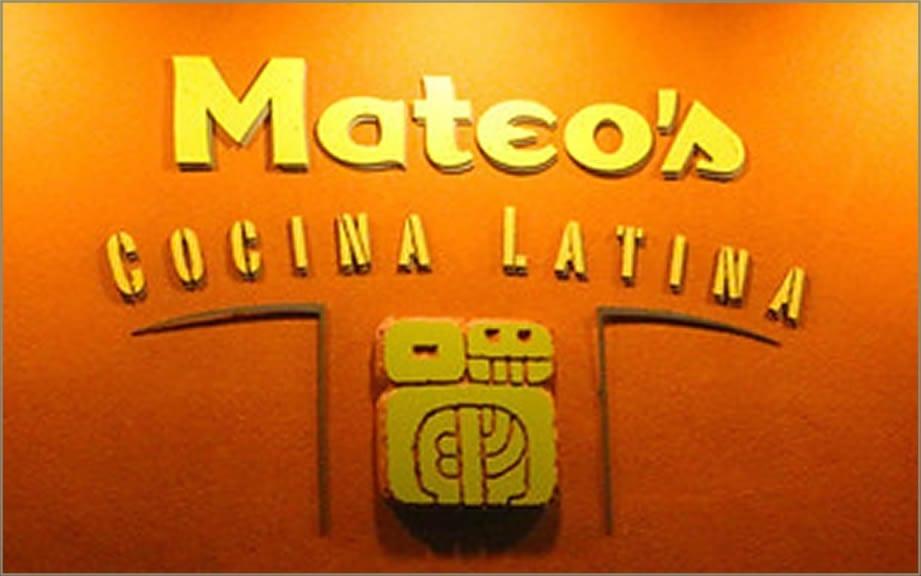 Mateo's Cocina Latina Mexican Restaurant in Healdsburg