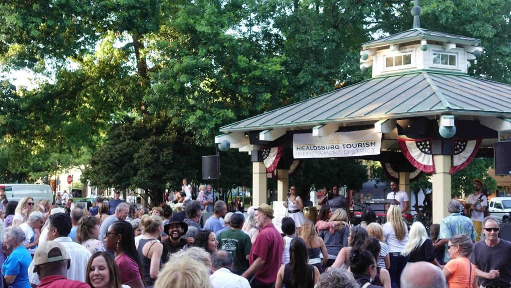 Dancing Comes Easy At Healdsburg's Concerts At The Plaza